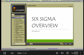 PM Simplify Sample Course Content